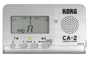 コルグのデジタルチューナー